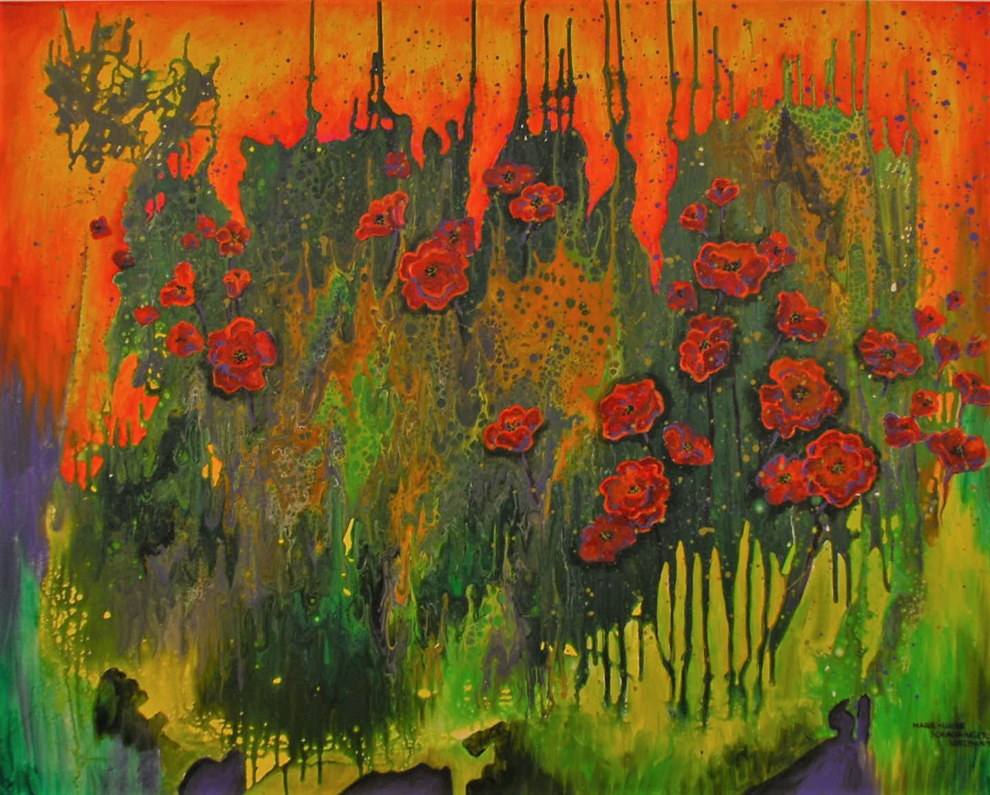 Marie-Luise Vielbunt Gemälde