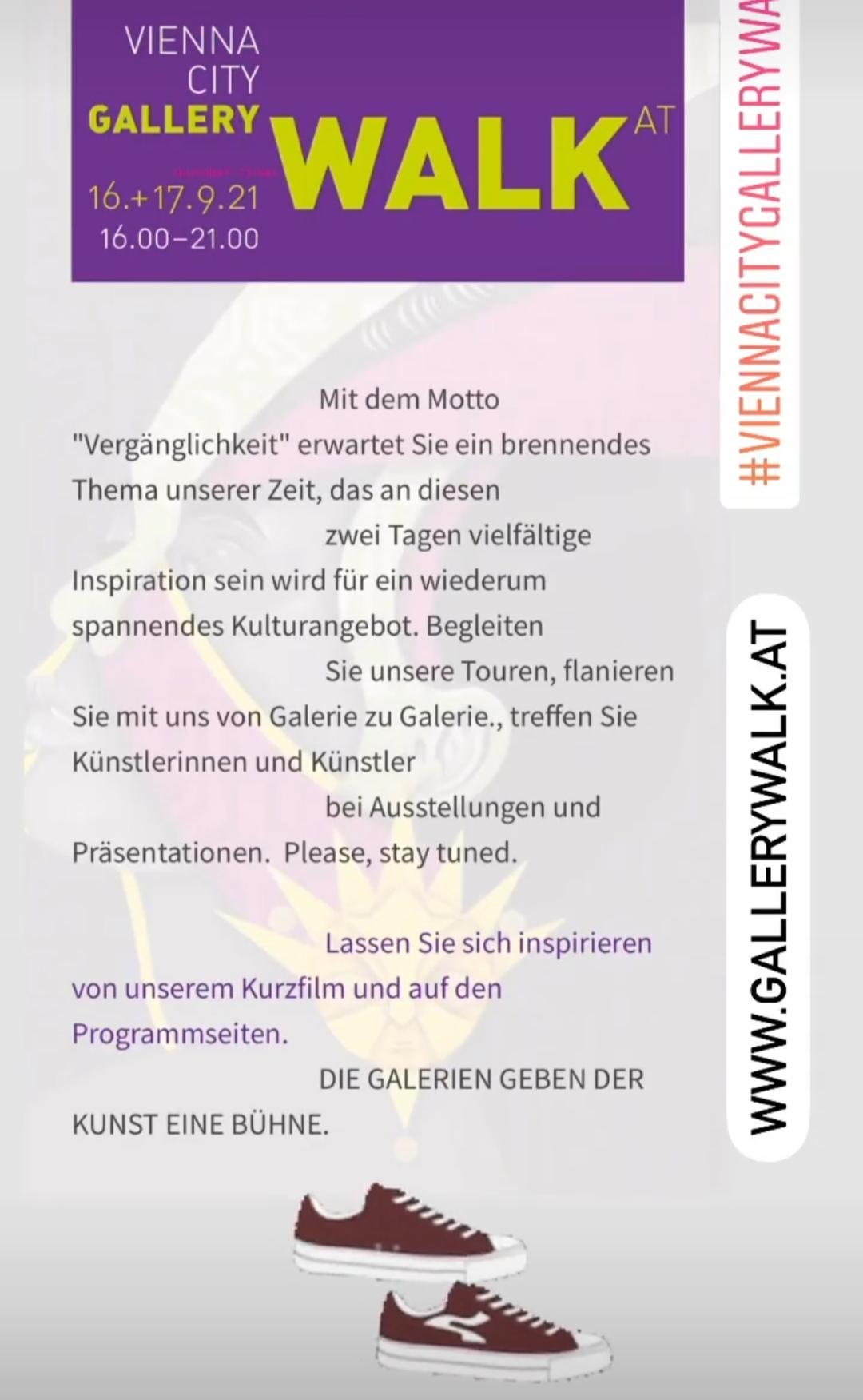 Gallery Walk Poster